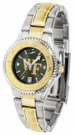 Wake Forest Demon Deacons Competitor Two-Tone AnoChrome Women's Watch