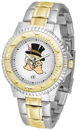 Wake Forest Demon Deacons Competitor Two-Tone Men's Watch