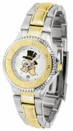 Wake Forest Demon Deacons Competitor Two-Tone Women's Watch