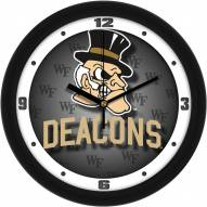 Wake Forest Demon Deacons Dimension Wall Clock