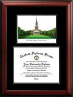 Wake Forest Demon Deacons Diplomate Diploma Frame