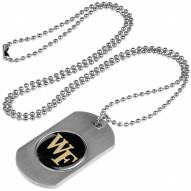 Wake Forest Demon Deacons Dog Tag