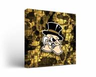 Wake Forest Demon Deacons Fight Song Canvas Wall Art