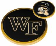 Wake Forest Demon Deacons Flip Coin