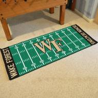 Wake Forest Demon Deacons Football Field Runner Rug