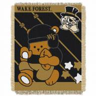 Wake Forest Demon Deacons Fullback Baby Blanket