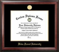 Wake Forest Demon Deacons Gold Embossed Diploma Frame