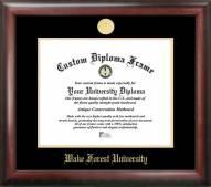 Wake Forest Demon Deacons Gold Embossed Diploma Frame