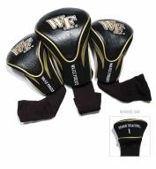 Wake Forest Demon Deacons Golf Headcovers - 3 Pack