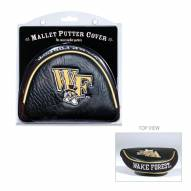 Wake Forest Demon Deacons Golf Mallet Putter Cover