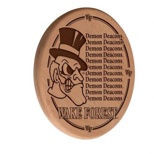 Wake Forest Demon Deacons Laser Engraved Wood Sign