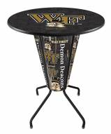 Wake Forest Demon Deacons Indoor Lighted Pub Table