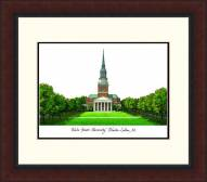 Wake Forest Demon Deacons Legacy Alumnus Framed Lithograph