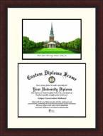 Wake Forest Demon Deacons Legacy Scholar Diploma Frame