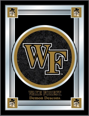 Wake Forest Demon Deacons Logo Mirror