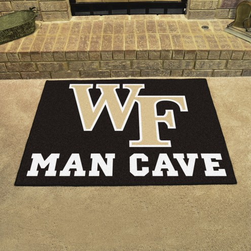 Wake Forest Demon Deacons Man Cave All-Star Rug