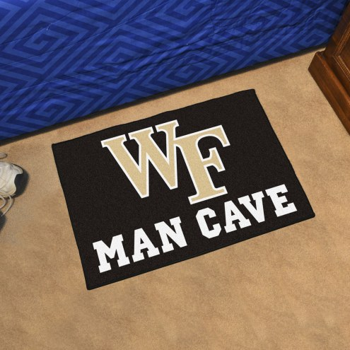 Wake Forest Demon Deacons Man Cave Starter Mat