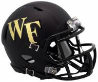Wake Forest Demon Deacons Riddell Speed Mini Collectible Football Helmet