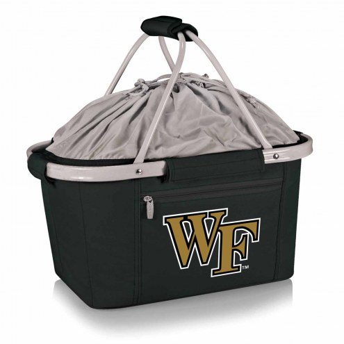 Wake Forest Demon Deacons Metro Picnic Basket