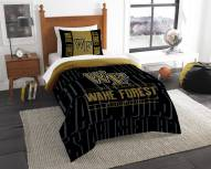 Wake Forest Demon Deacons Modern Take Twin Comforter Set