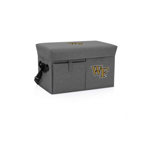 Wake Forest Demon Deacons Ottoman Cooler & Seat