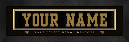 Wake Forest Demon Deacons Personalized Stitched Jersey Print