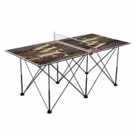 Wake Forest Demon Deacons Pop Up 6' Ping Pong Table