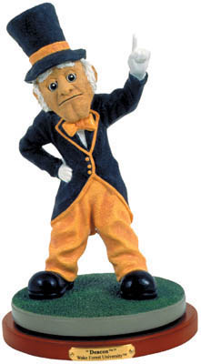 Wake Forest Demon Deacons Collectible Mascot Figurine