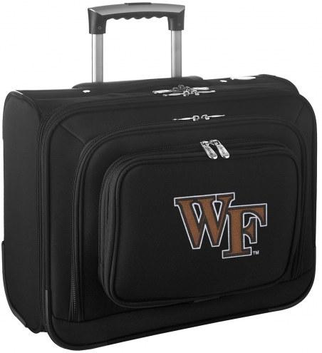 Wake Forest Demon Deacons Rolling Laptop Overnighter Bag