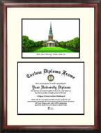 Wake Forest Demon Deacons Scholar Diploma Frame