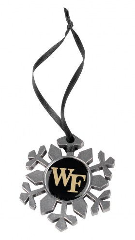 Wake Forest Demon Deacons Snow Flake Ornament