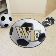 Wake Forest Demon Deacons Soccer Ball Mat