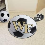 Wake Forest Demon Deacons Soccer Ball Mat