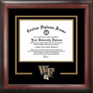 Wake Forest Demon Deacons Spirit Diploma Frame
