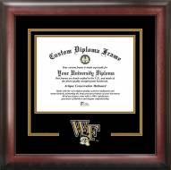 Wake Forest Demon Deacons Spirit Diploma Frame