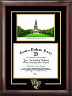 Wake Forest Demon Deacons Spirit Graduate Diploma Frame