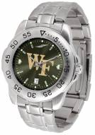 Wake Forest Demon Deacons Sport Steel AnoChrome Men's Watch