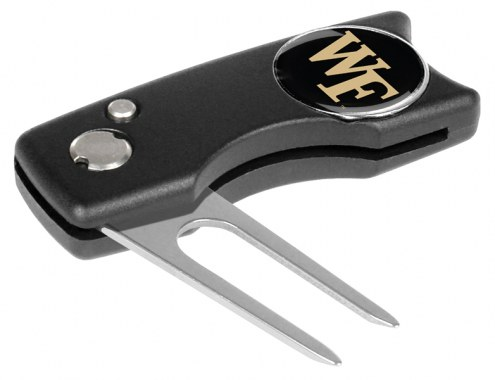 Wake Forest Demon Deacons Spring Action Golf Divot Tool