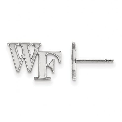 Wake Forest Demon Deacons Sterling Silver Extra Small Post Earrings