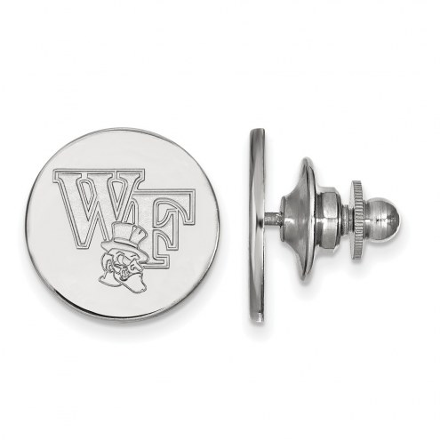Wake Forest Demon Deacons Sterling Silver Lapel Pin