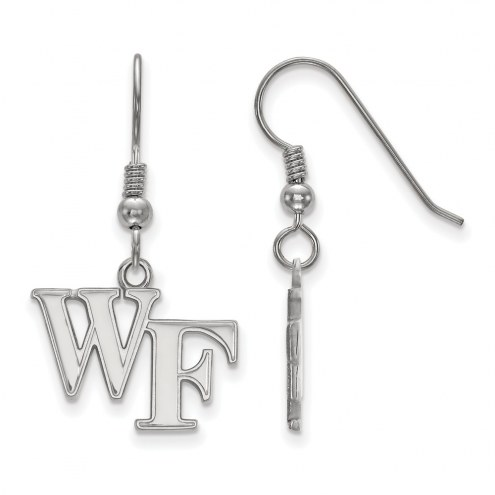Wake Forest Demon Deacons Sterling Silver Small Dangle Earrings