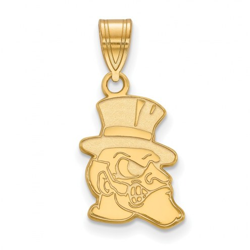 Wake Forest Demon Deacons Sterling Silver Gold Plated Medium Pendant