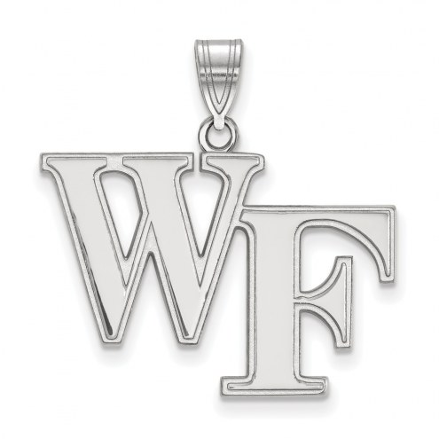 Wake Forest Demon Deacons Sterling Silver Large Pendant