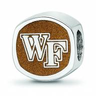 Wake Forest Demon Deacons Sterling Silver Logo Bead