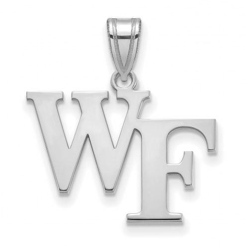 Wake Forest Demon Deacons Sterling Silver Medium Pendant