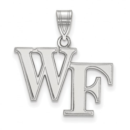 Wake Forest Demon Deacons Sterling Silver Medium Pendant