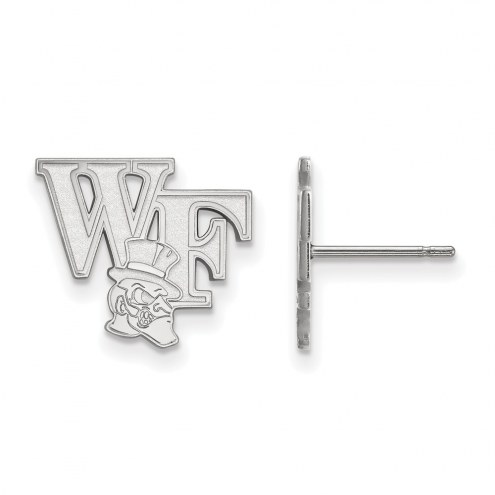 Wake Forest Demon Deacons Sterling Silver Small Post Earrings