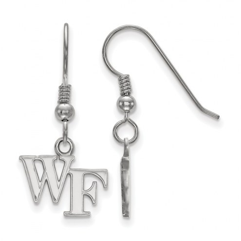 Wake Forest Demon Deacons Sterling Silver Extra Small Dangle Earrings