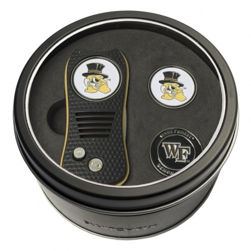 Wake Forest Demon Deacons Switchfix Golf Divot Tool & Ball Markers