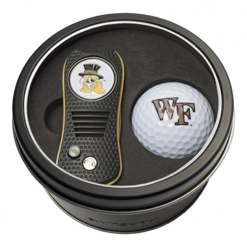 Wake Forest Demon Deacons Switchfix Golf Divot Tool & Ball